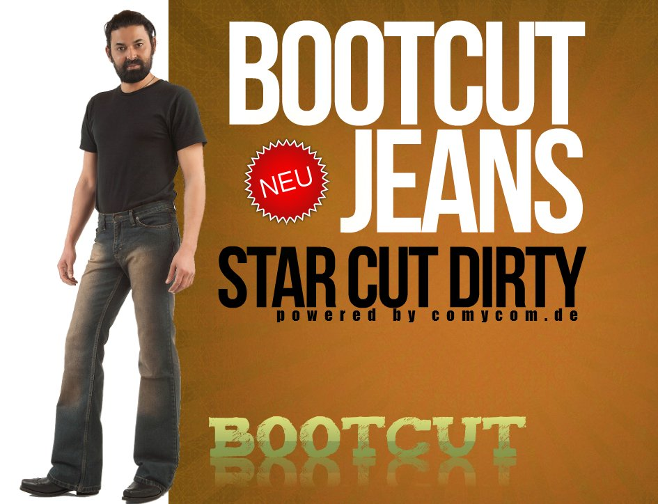 Star Cut Dirty Herrenjeans