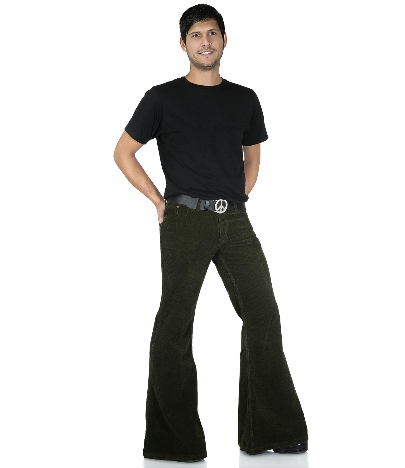 Hippie Bellbottom Flares green