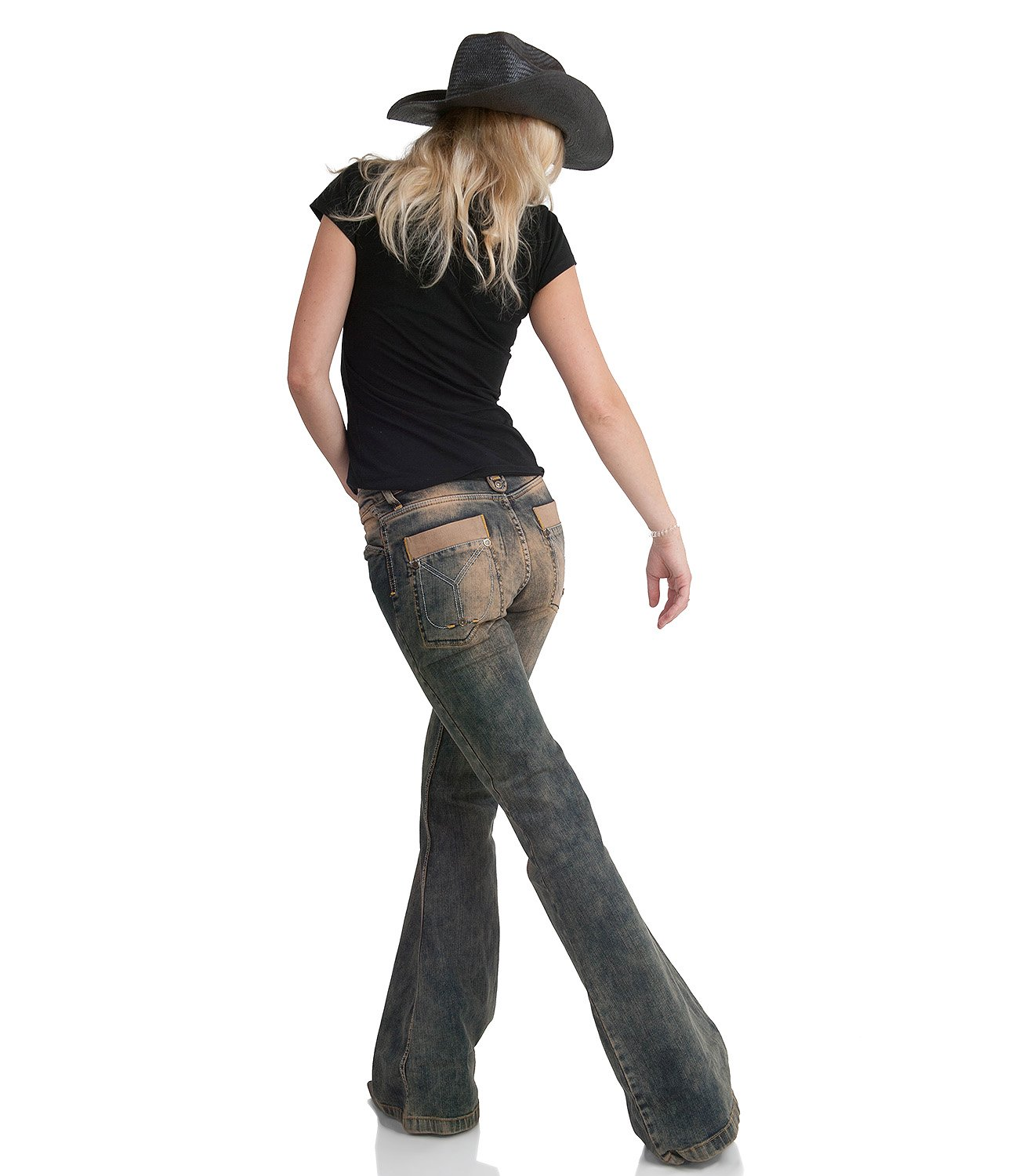 Damen Jeansschlaghose Star Rebel by comycom